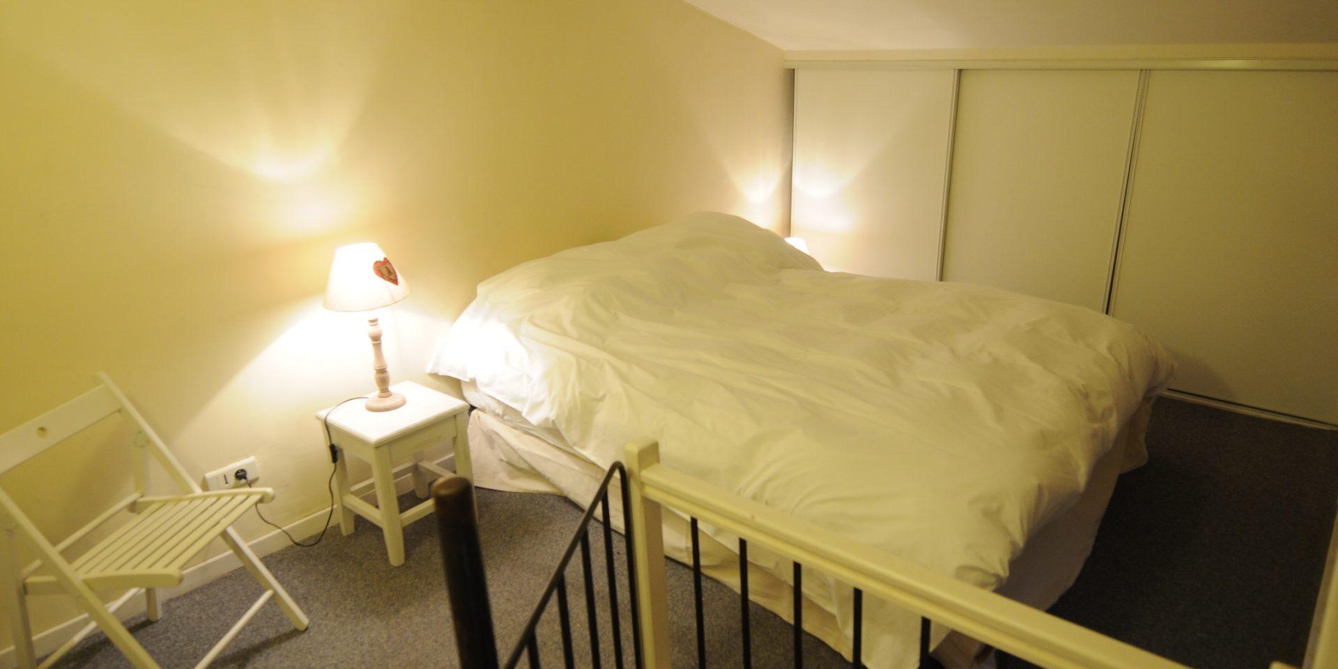 Chambre sur la mezzanine